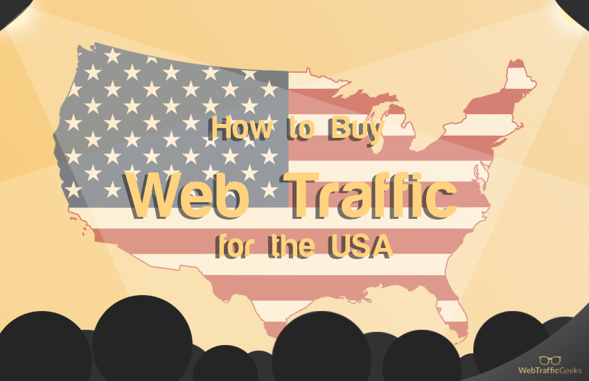 Buy Web Traffic for the USA: header Image