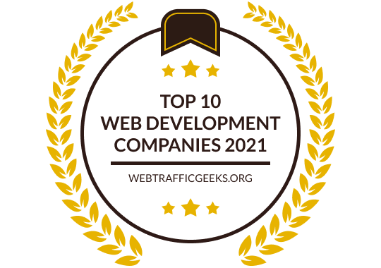 Badges for Top 10 Web Development Blogs | 2021